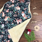 The Little Fawn Woodland Storybook Blanket