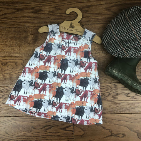 The Little Fawn Till the cows come home A-Line Dress 0-4 years