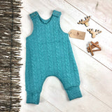 The Little Fawn Cable Knit Romper 0 - 24 Months - All Colours