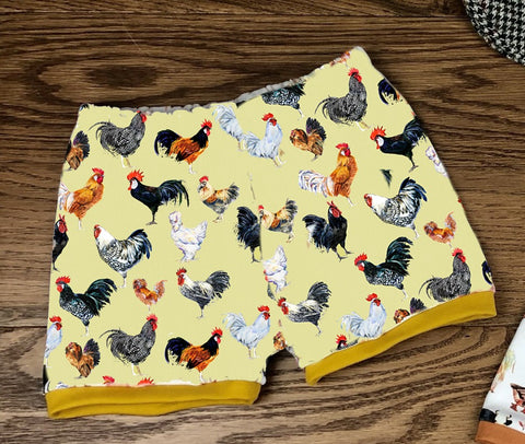 Clucking fabulous cuffed shorts