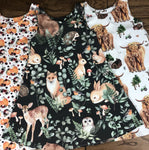 The Little Fawn Woodland Storybook A-Line Dress 0-4 years