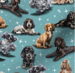 Dog Breeds (ALL BREEDS) cuffed shorts