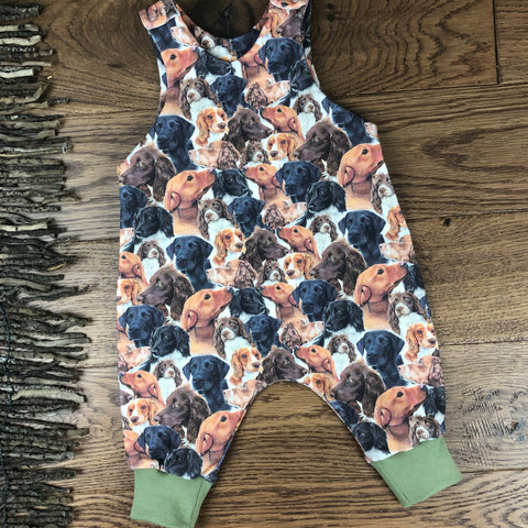 The Little Fawn Working dog Romper 0-4 years
