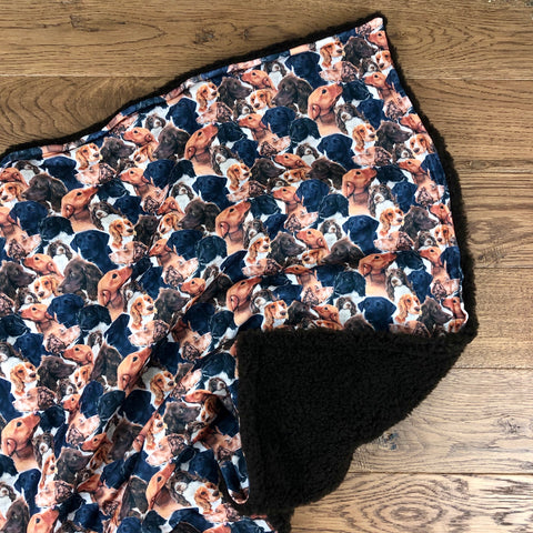 The Little Fawn Working dogs Blanket