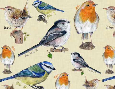 Garden birds Leggings