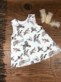The Little Fawn Mallards in Flight A-Line Dress 0-4 years