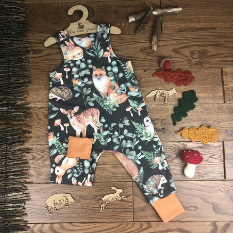 The Little Fawn Woodland Storybook Romper 0-4 years