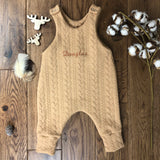 EMBROIDERY - Cable Knit or Quilted Cotton( PLEASE ADD TO YOUR CABLE KNIT or QUILTED COTTON ORDER)