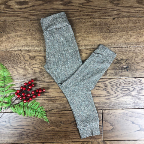 The Little Fawn Tweed Effect Leggings