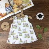 The Little Fawn Little Lambs A-Line Dress 0-4 years