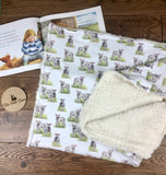 The Little Fawn Pheasant Blanket