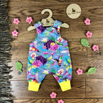 The Little Fawn Hummingbirds Romper 0-4 years