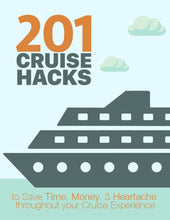 Load image into Gallery viewer, Cruise Hacks Ebook Cover