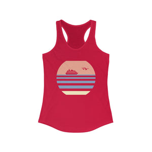 Retro Cruise Sunset Tank (Red)