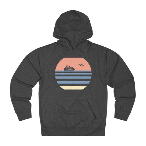 Cruise Hoodie - Retro Sunset Design