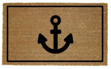 Load image into Gallery viewer, Coir Door Mat with Anchor Design