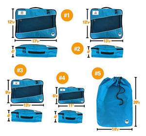 Packing Cubes Dimensions