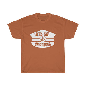Let's Get Shipfaced - Funny Men's Cruise T Shirts by Cruise On