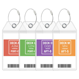 cruise luggage tags carnival