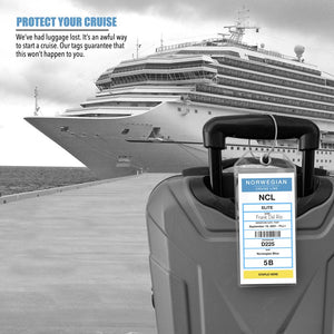 cruise luggage tags norwegian 2021