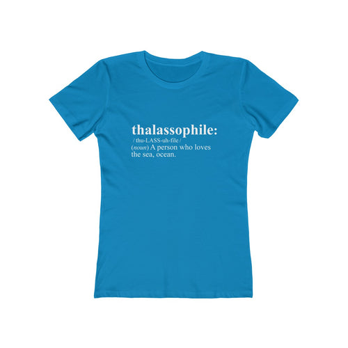 Thalassophile Shirt Women's (Blue)