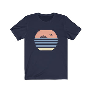 Cruise Shirt - Retro Sunset (Men's Short Sleeve)