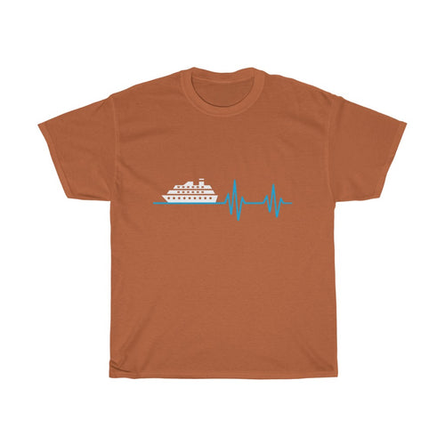 Cruise Heartbeat | Men's Cruise Shirts (Short Sleeve)
