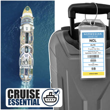 Load image into Gallery viewer, ncl cruise luggage tags 2021