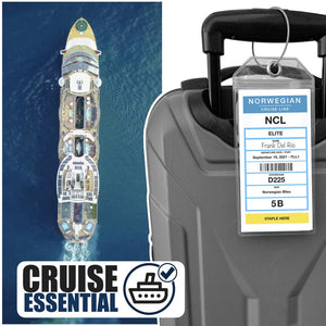 ncl cruise luggage tags 2021