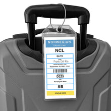 Load image into Gallery viewer, norwegian luggage tag