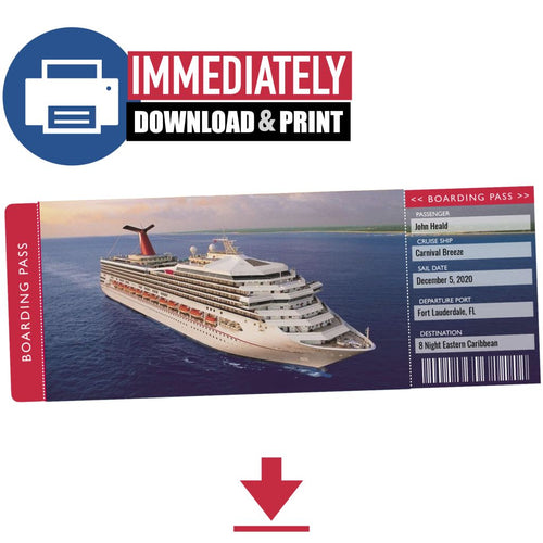 printable cruise ticket carnival
