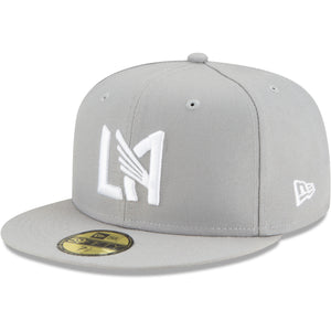 Men's LAFC New Era Gray Street x Street Icon 59FIFTY Fitted Hat