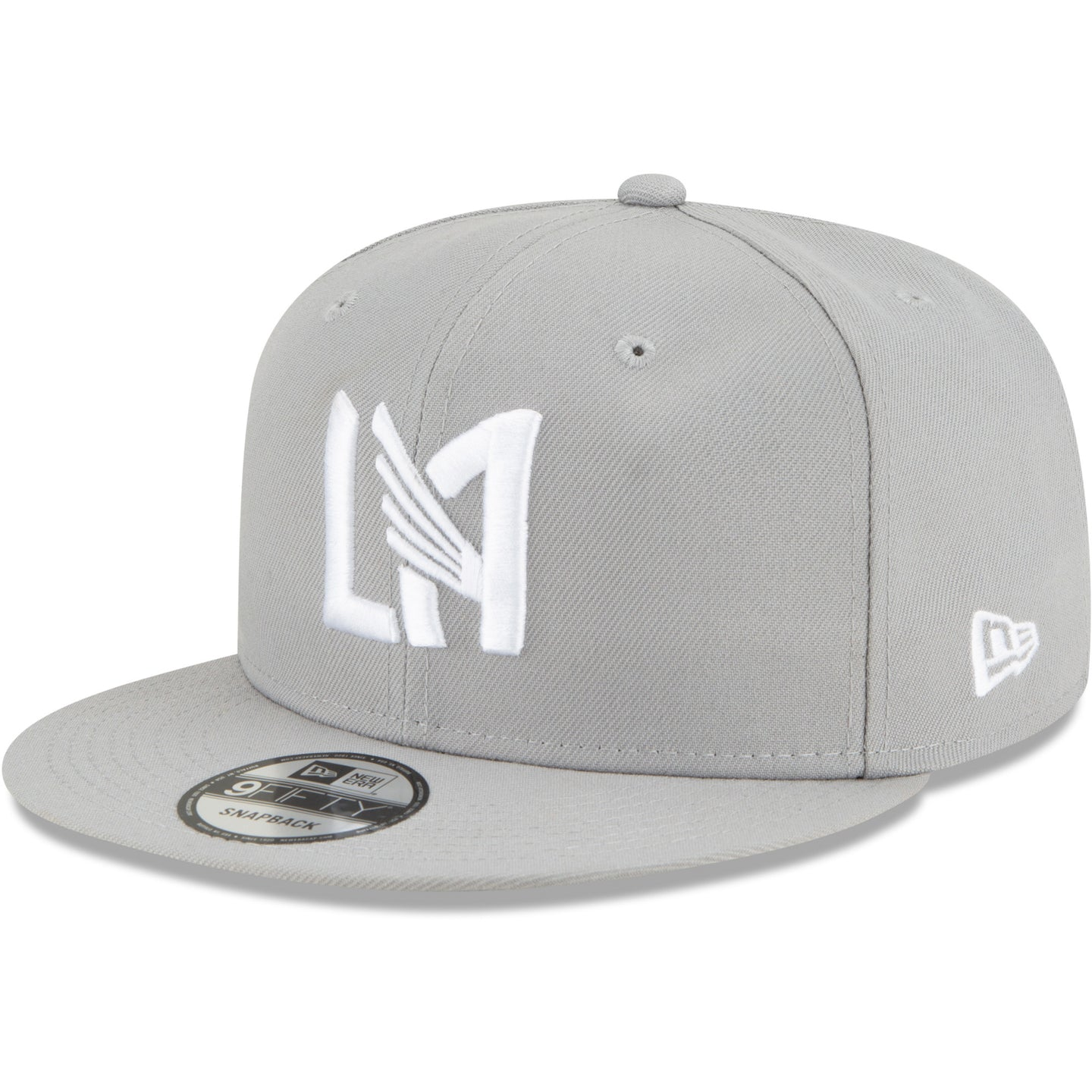 Men's LAFC New Era Gray Street x Street Icon 9FIFTY Adjustable Snapback Hat