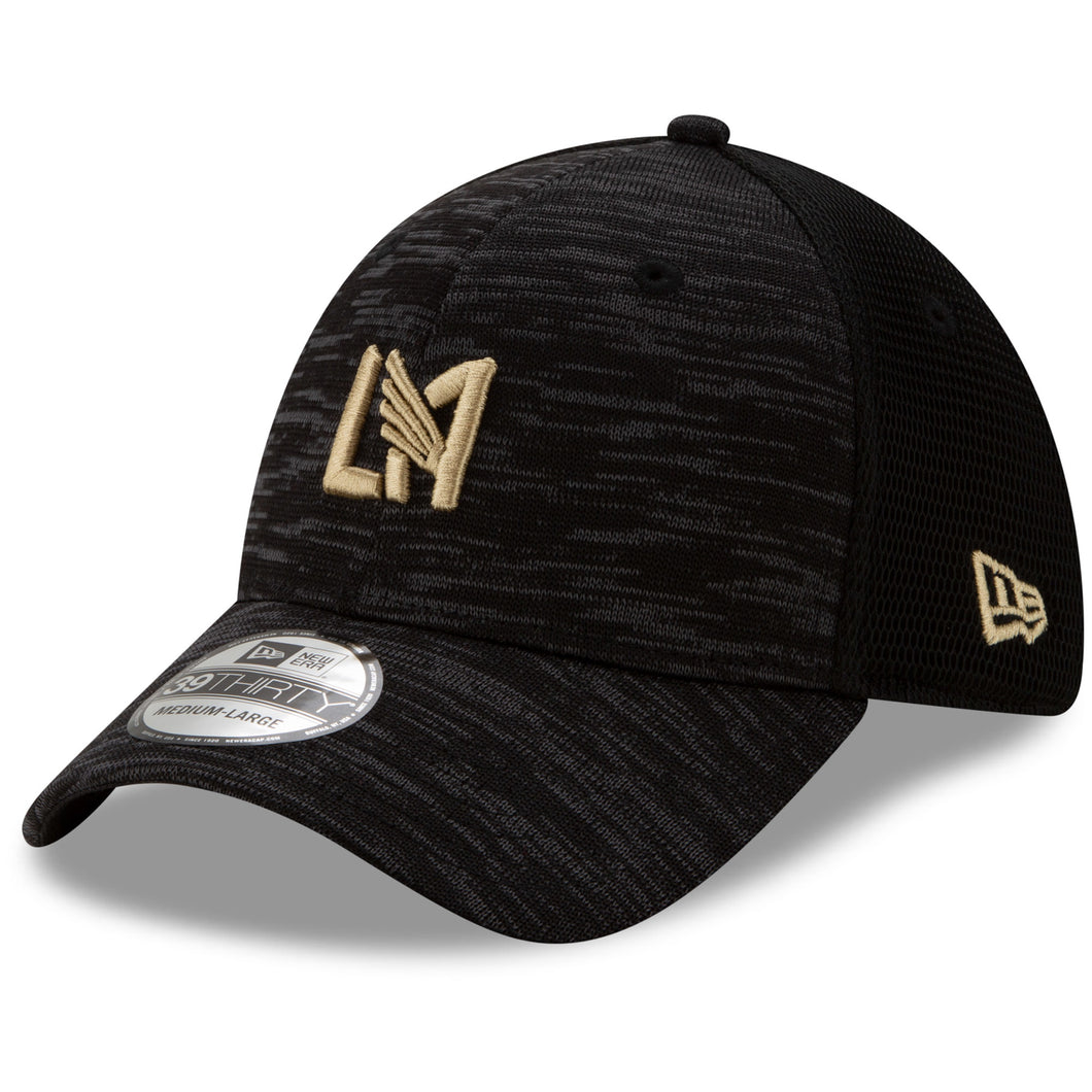 LAFC New Era On-Field Collection 39THIRTY Flex Hat - Black