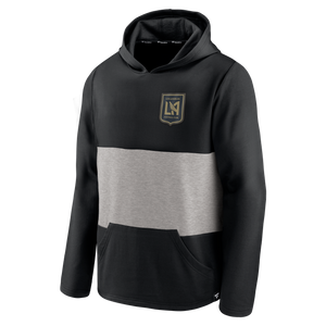 LAFC Mens Linear Colorblock Pullover Hoodie
