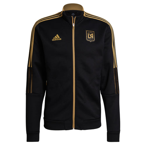 2021 LAFC Adidas Player Anthem Full-Zip Jacket – Black