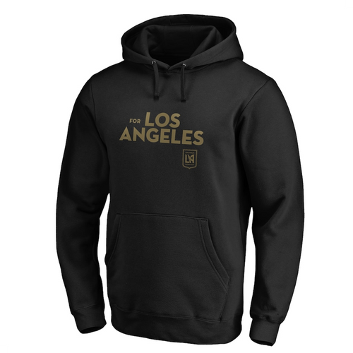LAFC Men's Team Slogan Playoff Pullover Hoodie Black