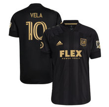 Load image into Gallery viewer, 2021 LAFC MENS FINISHED CLUB KIT  BLACK - AUTHENTIC VELA