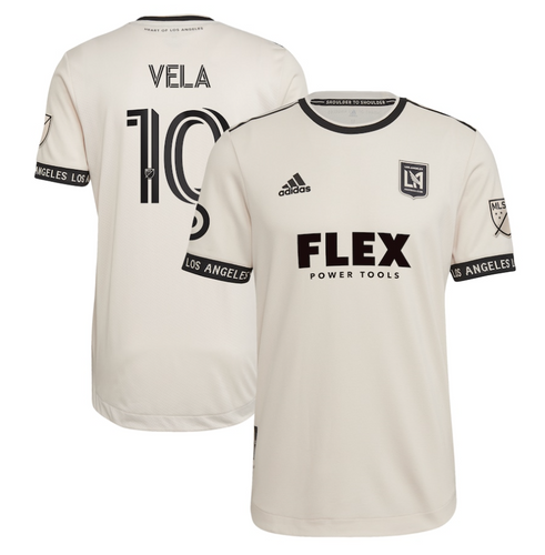 2021 LAFC FINISHED MENS HEART OF GOLD COMMUNITY KIT - AUTHENTIC VELA