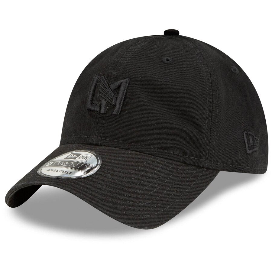 LAFC New Era Blackout Icon 920 Black Hat