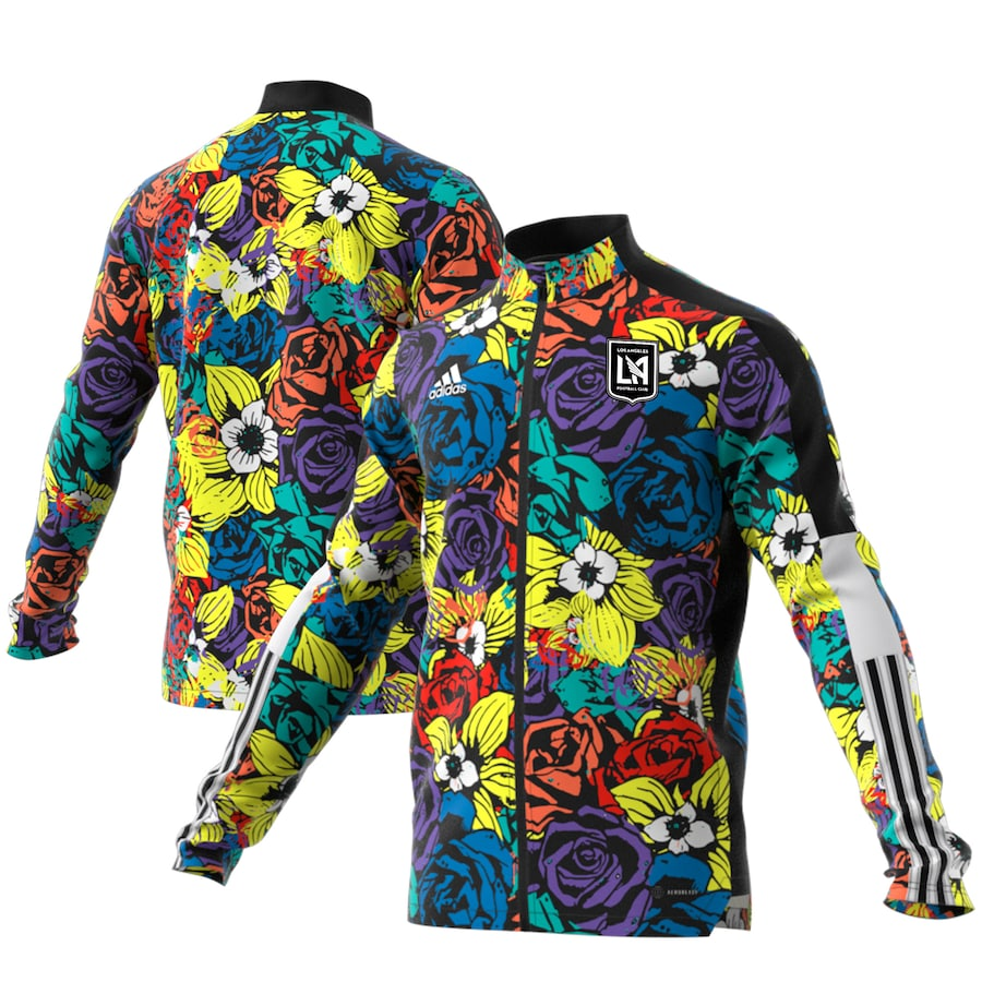 Los Angeles FC Men's Adidas Authentic Primary Jersey 2020 Black