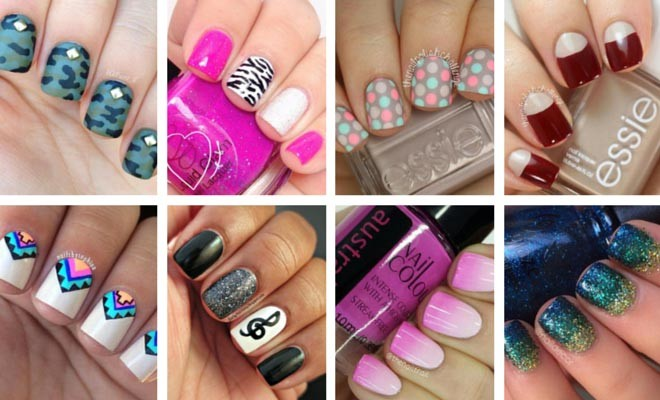 29 Nail Designs For Short Nails Ampulu Nails