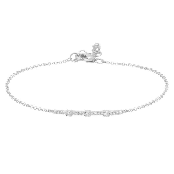 Mini Diamond Segment Bracelet