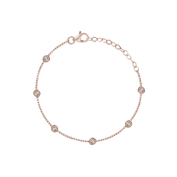 Diamond By The Yard Anklet