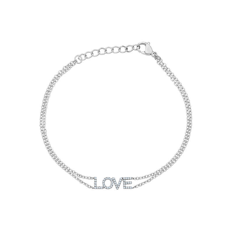 Diamond Love Bracelet