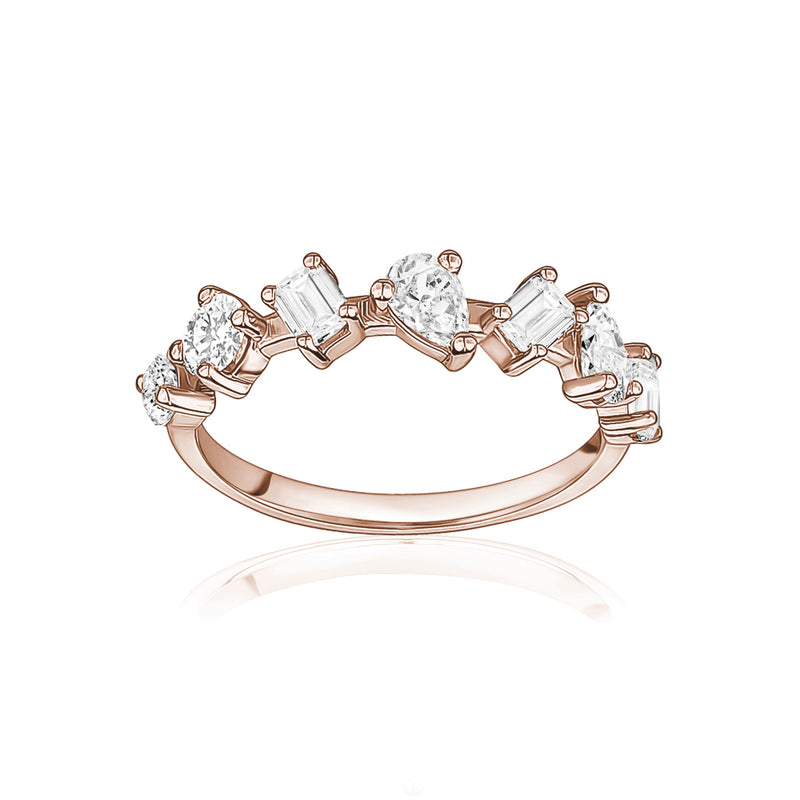 Multi-Shape Diamond Ring