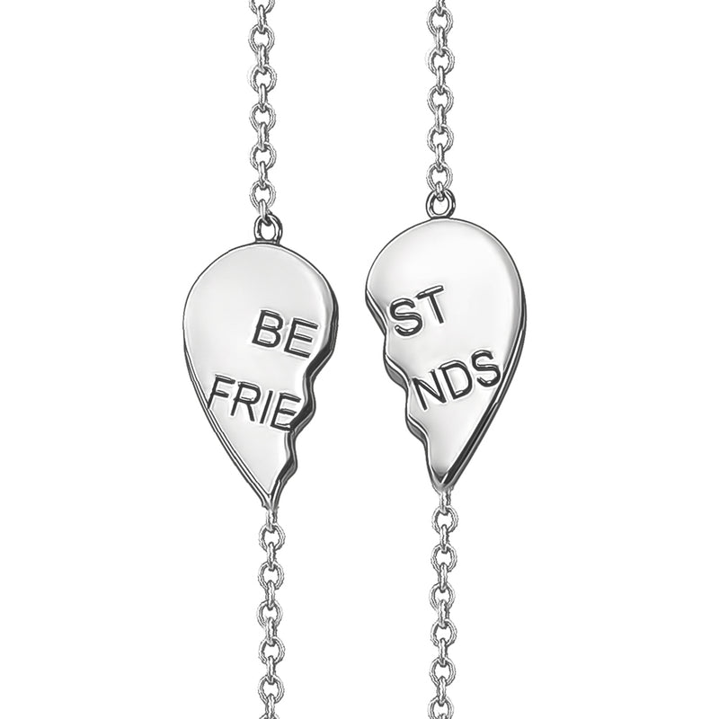 Best Friends Heart Bracelets