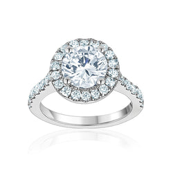 Signature Halo Setting Engagement Ring