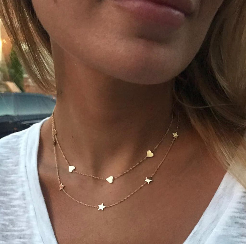 Stars By The Yard Necklace