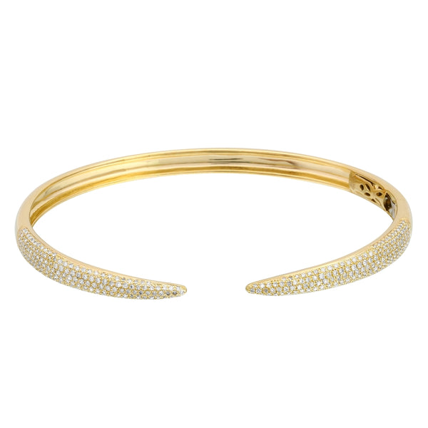 Diamond Claw Cuff